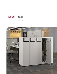 JSI Office Furniture Dealer: Metro Detroit | Discount Office Equipment - j_flux_lockers_lit-1